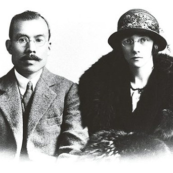 Couple mythique de la marque Nikka