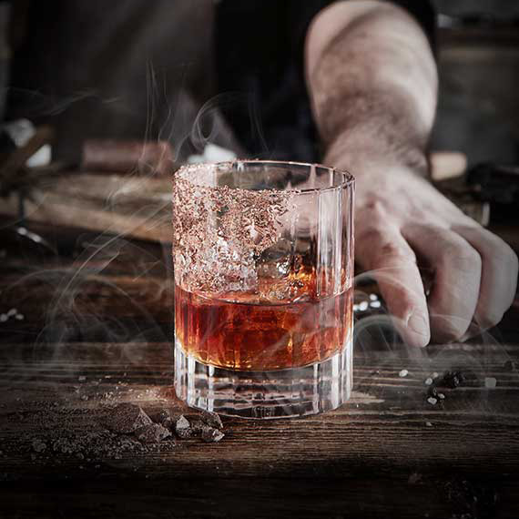 Photo du cocktail Smoked Fashioned